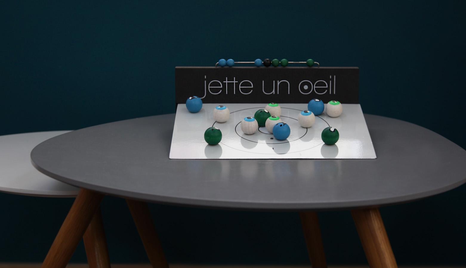 jeu de 12 boules en bois